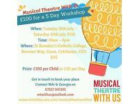 Musical Theatre Summer Workshop