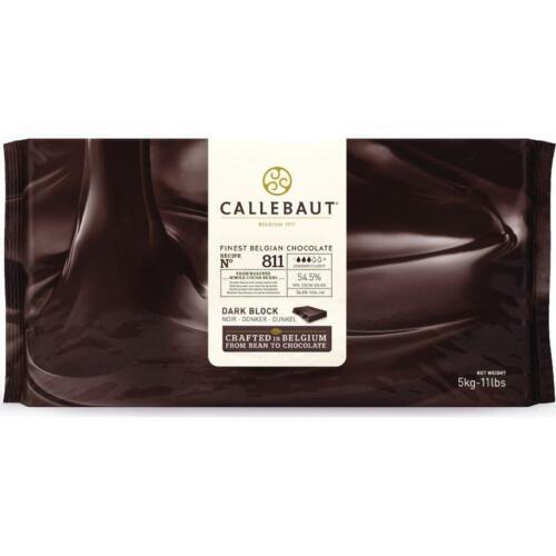 Callebaut - 811 Dark Chocolate Block - 11 lbs