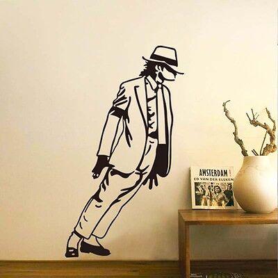 Dancing Michael Jackson Wall Sticker  Removable Vinyl Decals DIY Home Wall Decor