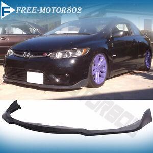 Fit 06-07 Subaru Impreza WRX STI PP Front Bumper Lip Spoiler Bod