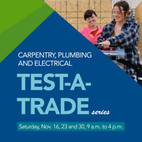 TEST-A-TRADE carpentry, plumbing and electrical series