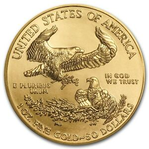 1 oz Misc. Year American Eagle $50 Gold Coin 9167
