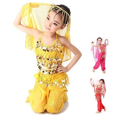 Et Halloween Costume Kids (KID's Belly Dance Costumes set Party Halloween Professional for Girl )