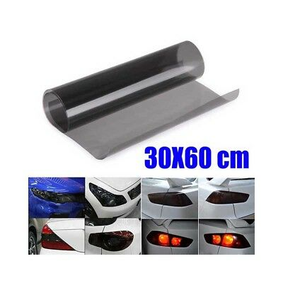 30 Light Tint - Car Gloss Light Smoke Vinyl Film Tint 30*60cm Headlight Taillight Fog Wrap Cover