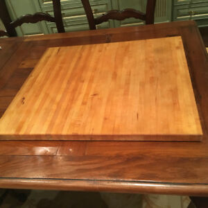 Xlarge Cedar Wood Cutting Board Kitchen Chef Cook Slice Food Pre