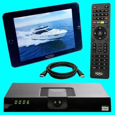Xoro HRT 8724 HD DVB-T2 Receiver + 36 dB ANTENNE ? Freenet TV ? PVR ? USB ? 8720