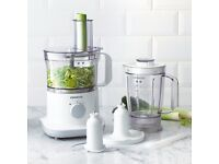 Kenwood FPP220 Multipro Compact Food Processor, White