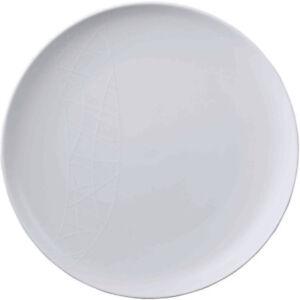 Jamie Oliver White on White 27cm Dinner Plate