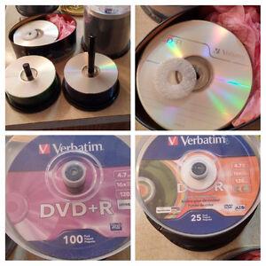 DVD's, CD's & Lightscribe