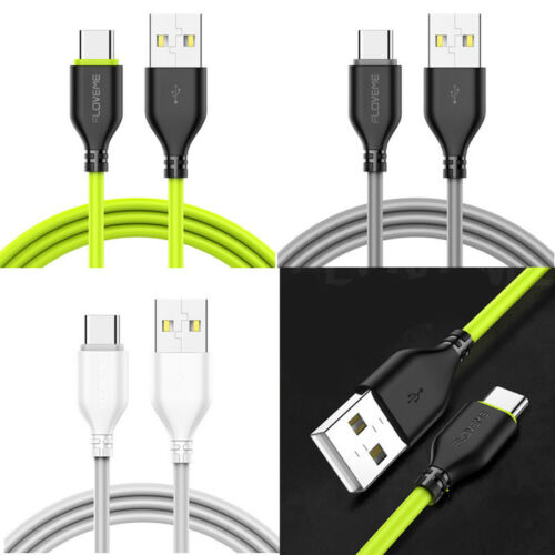USB-C Type C Fast Charging Data Cable For Samsung Galaxy S8 S9 Huawei P20