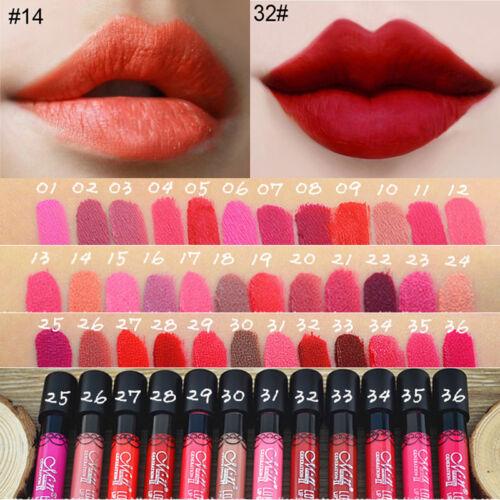 Long Lasting Waterproof Lip Liquid Pencil Matte Lipstick Lip Gloss Beauty Makeup