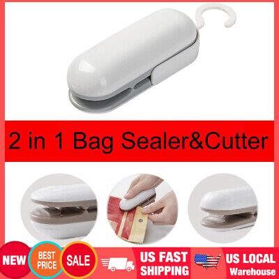 Mini Portable Bag Sealer Chip Bag Sealer For Food Storage Snack Fresh
