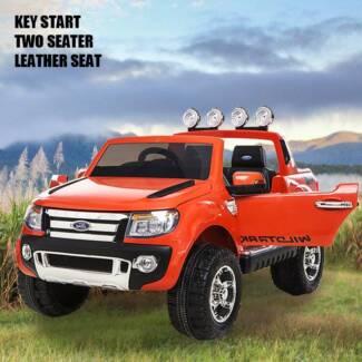Licensed Ford RangerRemote control Electric Ride On Car orange