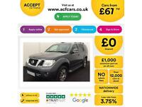 Nissan Pathfinder 2.5dCi 190 TEKNA FROM £67 PER WEEK