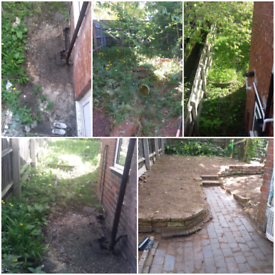 I provide gardening and housekeeping services