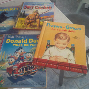 11 Old Little Golden Books Plus Others