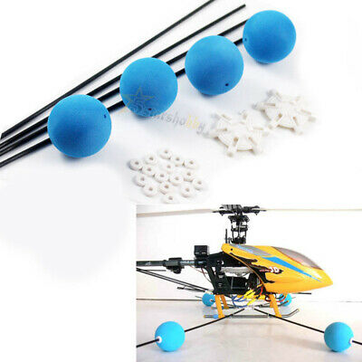Landing Training Kit for Blade 400 Trex 450 500 RC Helicopter Sponge Balls Helicopter Training Kit