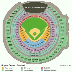 blue Jay's game aug 20 $120/pair