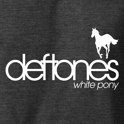 DEFTONES WHITE PONY T-Shirt Hard Rock Band Classic Album Logo S-6XL Cotton Tee - Hard Rock Band Shirt