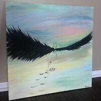 The Dream, abstract painting