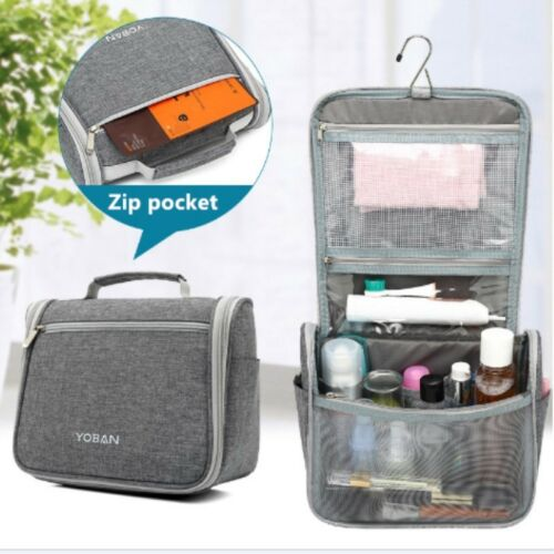 Travel Cosmetic Bag Makeup Toiletries Organizer Waterproof Storage Hanging Bag Home & Garden