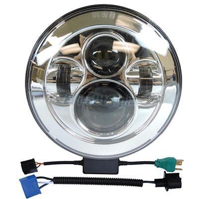 "7"" Hi-Low LED Daymaker Headlight for Harley Street Glide Softail FLFB FLH Fatboy"