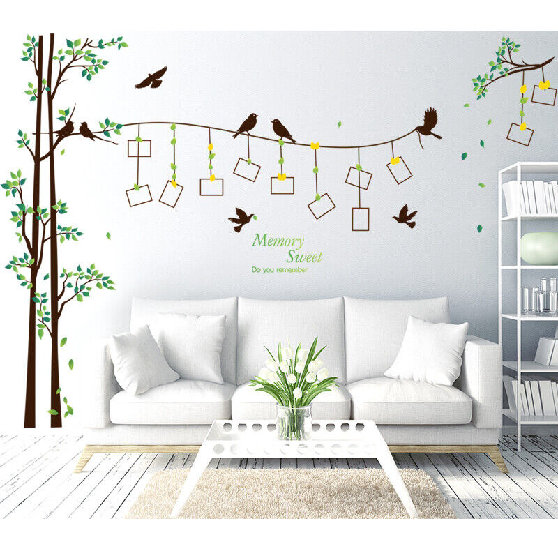 Home Decoration - Family Tree Photo Frame Wall Decal Sticker Mural Living Room Home Decor