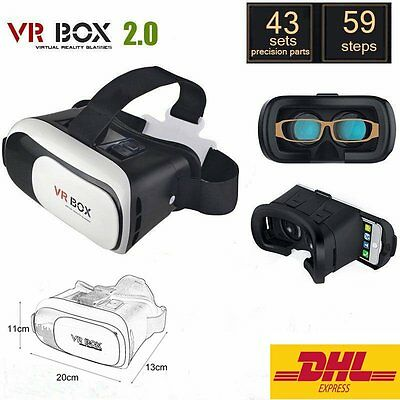 Virtual Reality 3D Brille VR Box 2.0 Gamepad Universal für Handy Top!!!