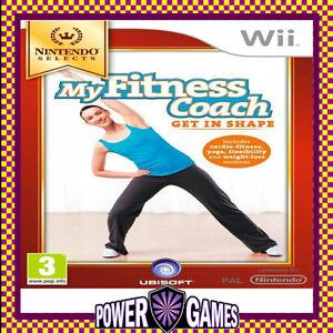 Wii my fitness coach ebay for Gimnasio wii fit