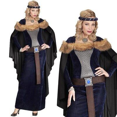 Adelige Prinzessin Gr. M 38/40 Mittelalter Kelten Damen Kostüm Game of (Kelten Kostüm)
