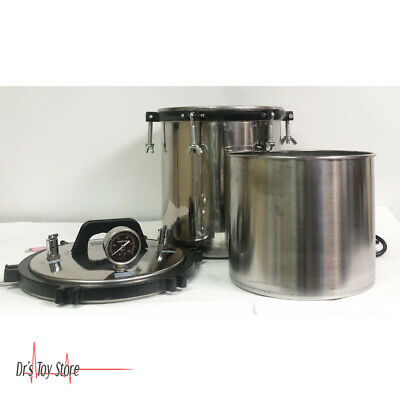 Pressure Sterilizer Stainless Steel Portable Pressure Steam Autoclave