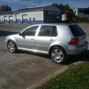 2002 Volkswagen Golf Hatchback Peterborough Peterborough Area image 2