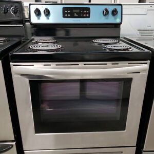 STOVE FRIGIDAIRE MODEL CFEF3016T STAINLESS STEEL WITH WARRANTY!