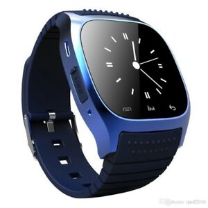2018 Bluetooth Smart Watches M26 for iPhone 6/6S Samsung S5/S4/N