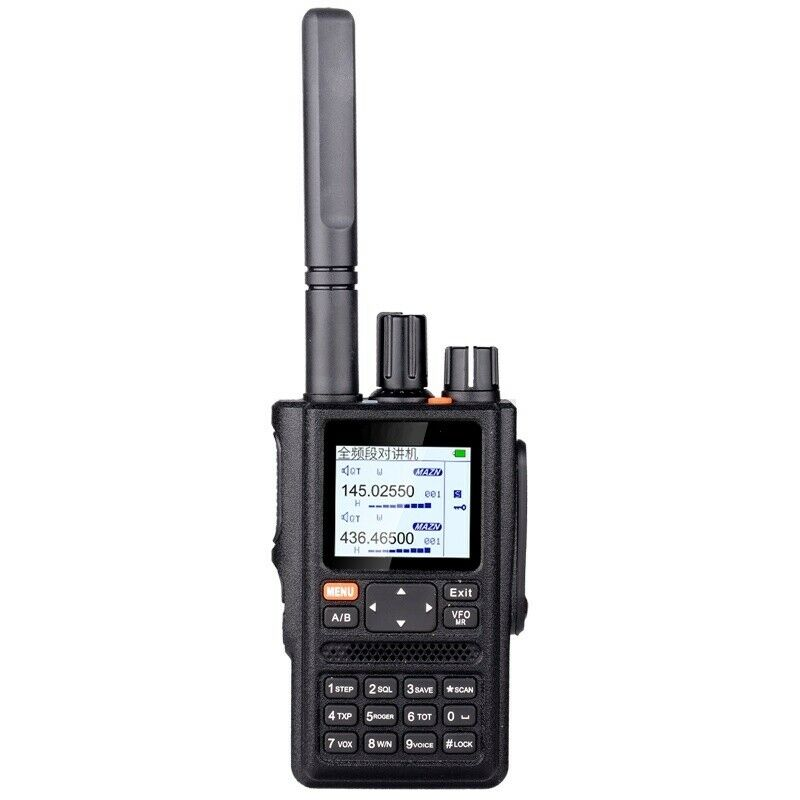 HAM GPS Transceiver All Bands CTCSS DCS Detection 999CH Commercial Intercom