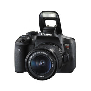 CANON EOS REBEL T6I W/18-55 IS + EF-S 55-250mm f/4-5.6 IS STM