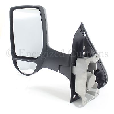 Ford Transit Van Mk6 2000 2006 Manual Short Arm Wing Door Mirror Passenger Side