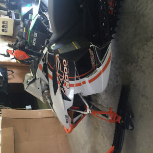 2015 Arctic Cat High Country 8000