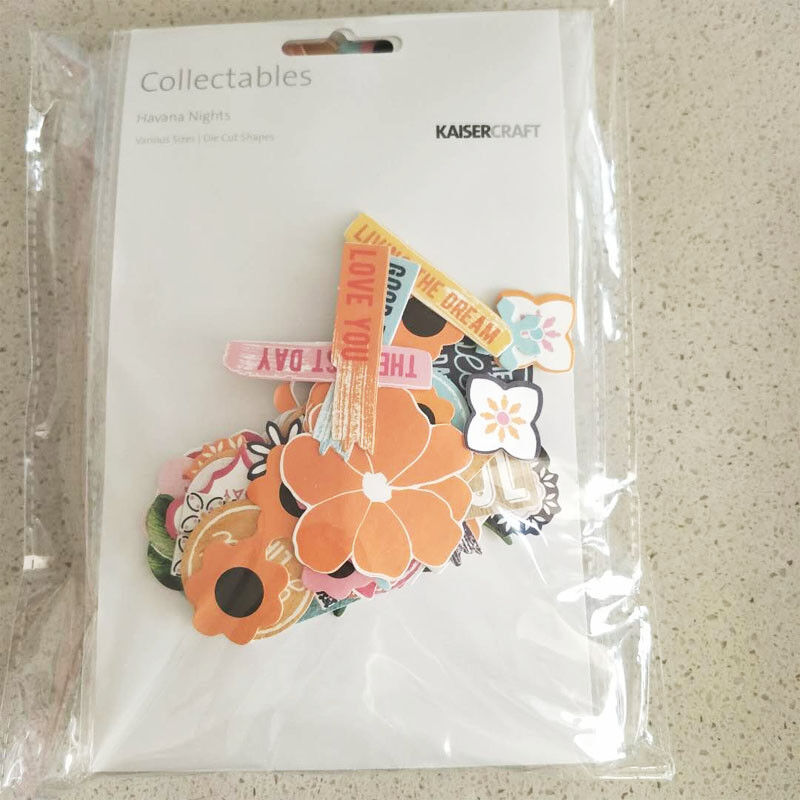 2016-2019 Kaisercraft Die Cuts Scrapbooking collectables 62 option Embellishment - Havana Nights