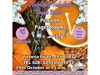 Absolutely Fabulous Halloween Themed Vegan Event Penarth Paget Rooms