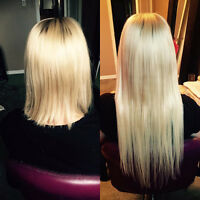 AFFORDABLE Hair Extensions-Fusion-Tape in-Micro-NanoRing-Removal