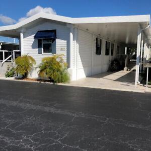 Maison mobiles à vendre en Floride   Parc  LONE PINE  Hallandale