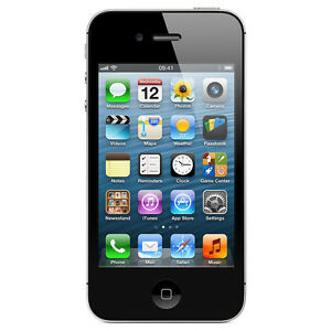 Apple iPhone 4 Black 8GB in Excellent Condition (Bell/Vigin)