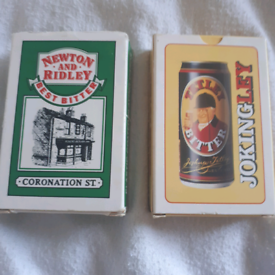 Playing cards x two packs vintage cards