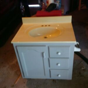 Free Bathroom Vanity - Good Condition