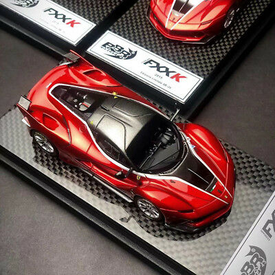 New 1/43 BBR Ferrari FXXK FXX K car Model Met. Red Met. grey Roof BN3103A LE20