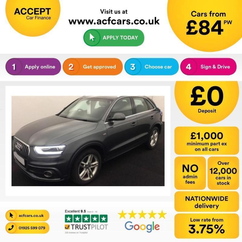 Audi Q3 FROM £84 PER WEEK!