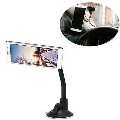1pc Long Magnetic Car 360°Windshield Sucker Mount Holder Stand For Phone GPS US
