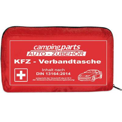 Auto Verbandskasten Verbandstasche KFZ Fahrzeug Verbandtasche DIN 13164 Rot