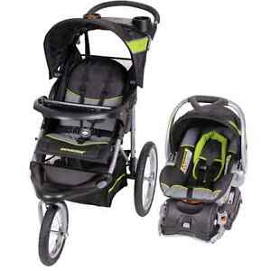 Baby trend expedition carseat, base and stroller